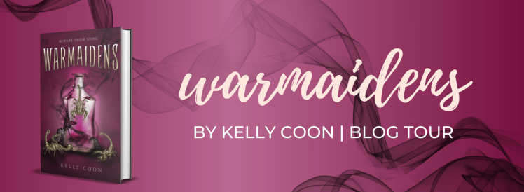 Warmaidens by Kelly Coon, blog tour